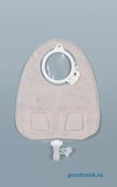 Мешок уростомный СенШура Клик дренируемый, прозрачный, с мягким двусторонним покрытием, фланец 60 мм 11856