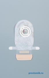 Easiflex Мешок дренируемый, прозрачный, педиатрический, с двусторонним нетканым покрытием с рисунком, фланец 17 мм 14691